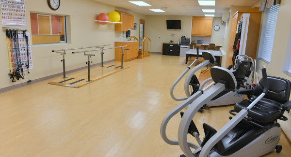 Recently Renovated Rehab Gym